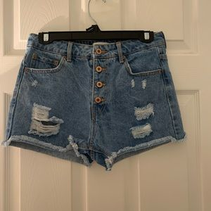 never worn forever 21 shorts
